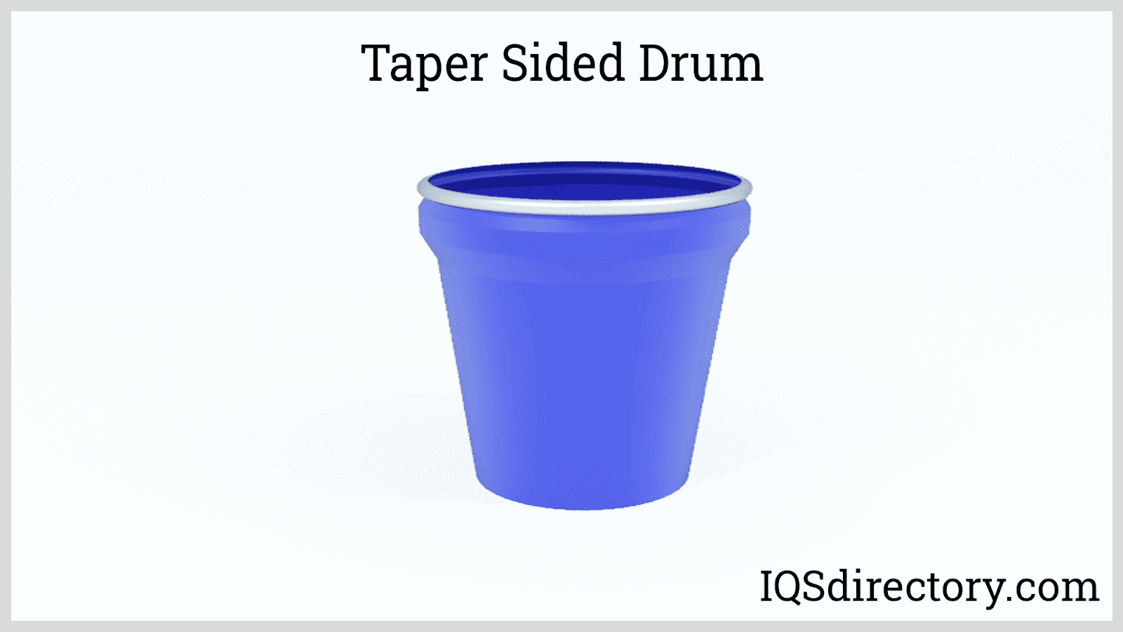 Taper Sided Drum