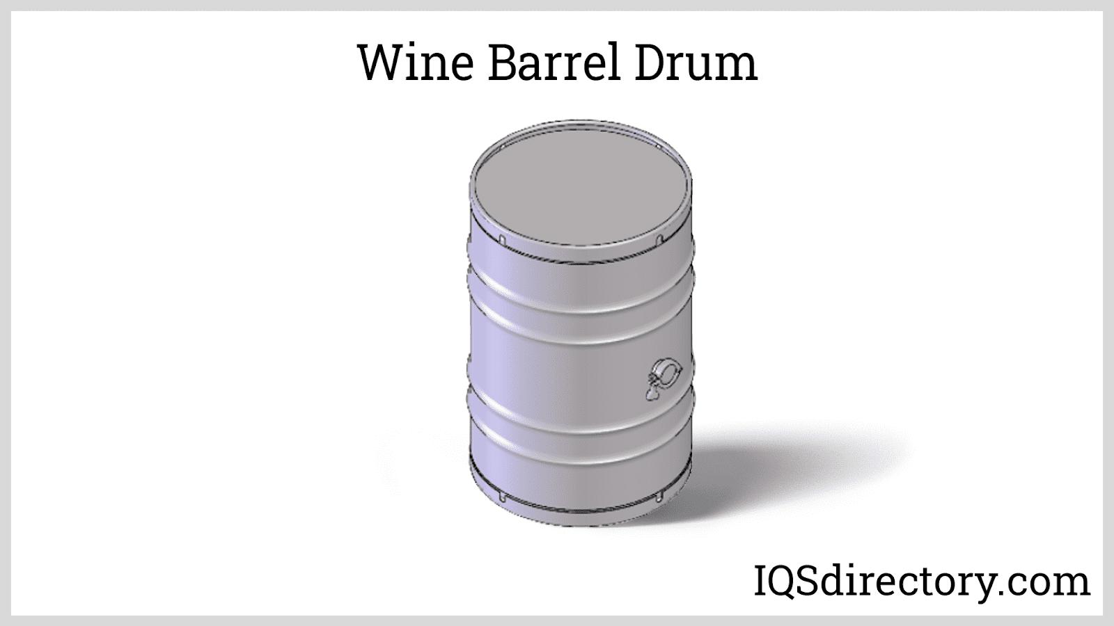 Wine Barrel Drum