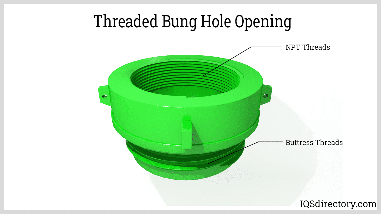 Threaded Bung Hole Opening