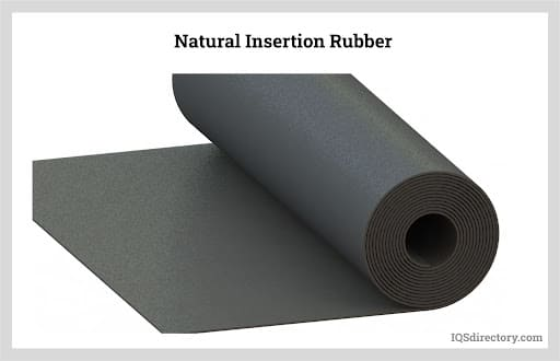 Natural Insertion Rubber
