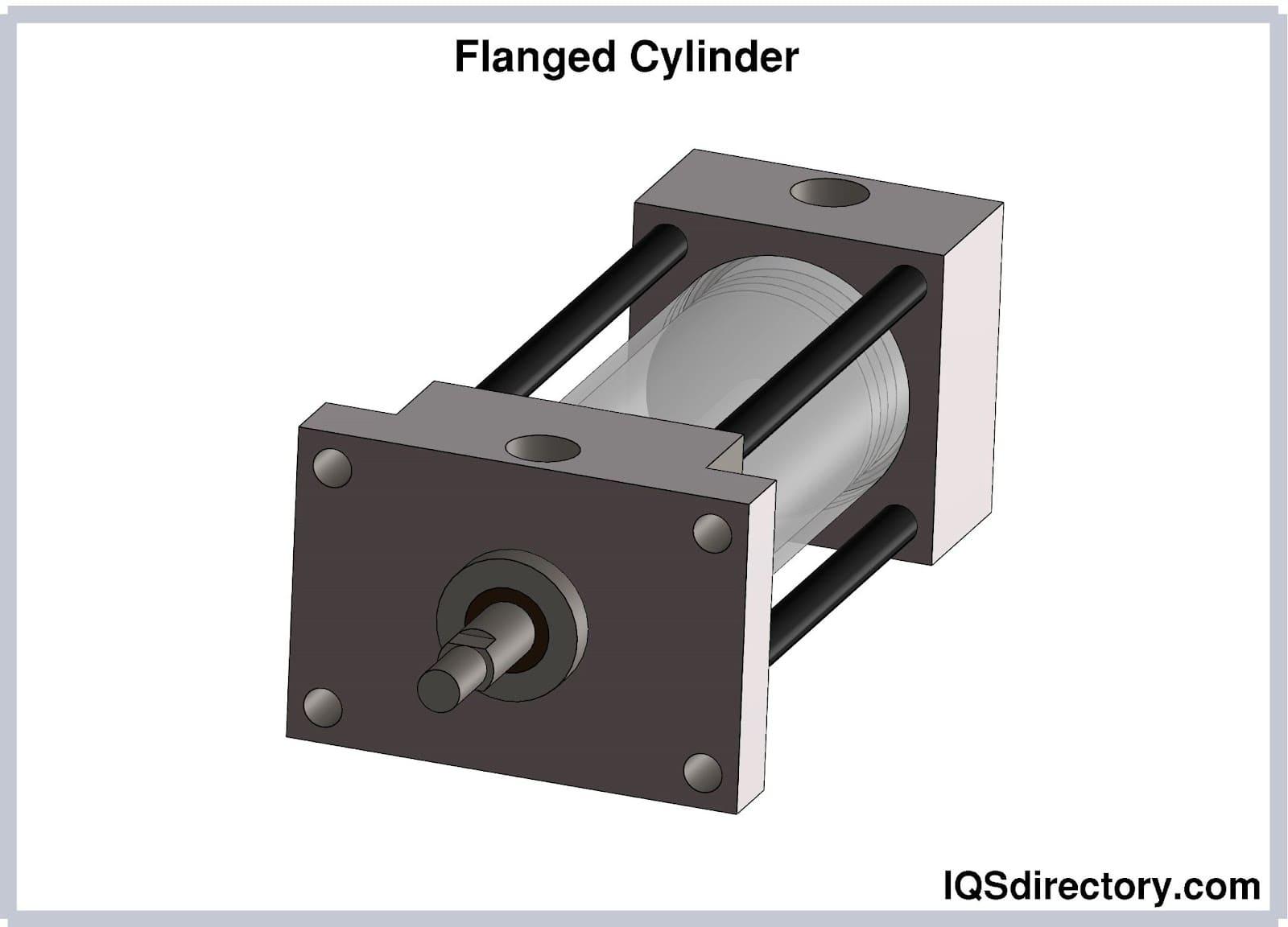 Flanged Cylinder