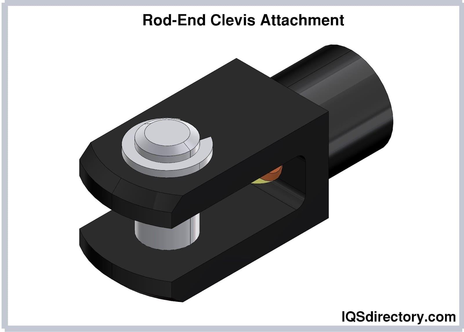Rod-End Clevis Attachment