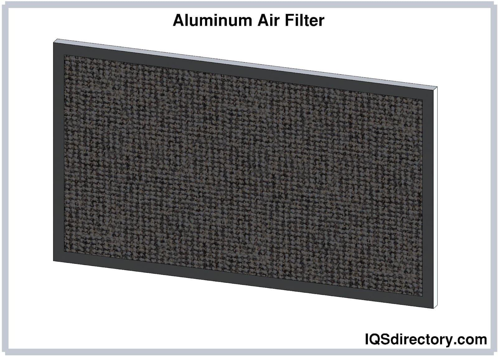 Aluminum Air Filter