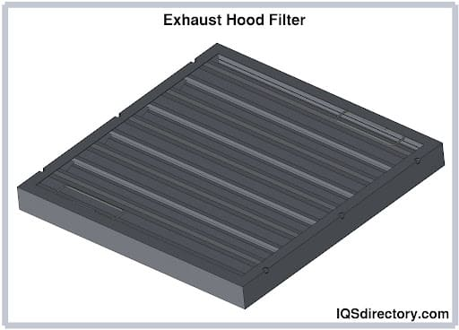 Exhaust Hood Filter