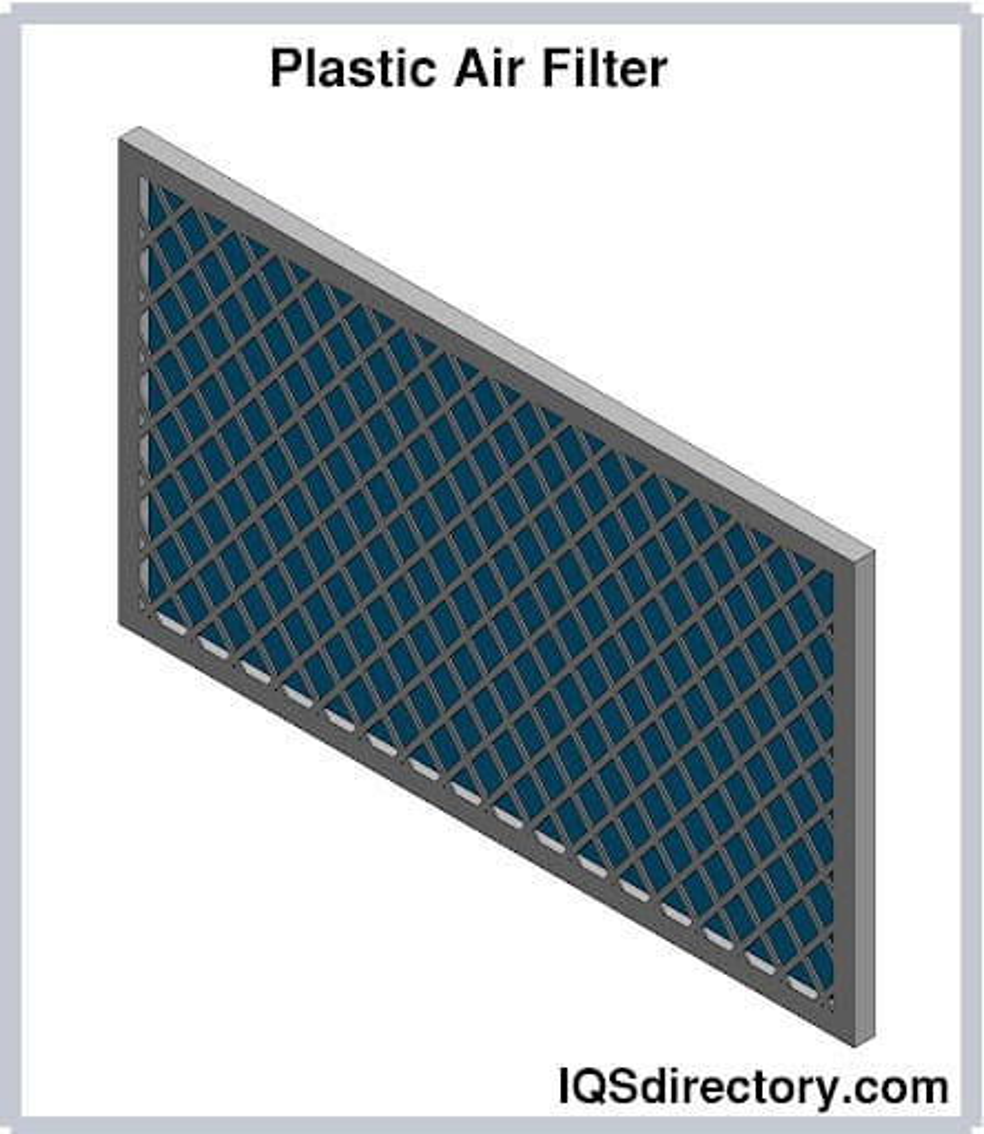 Plastic Air Filter
