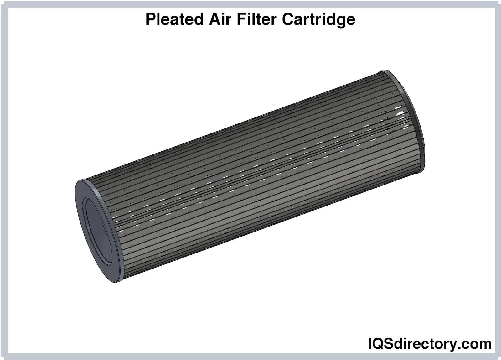 Pleated Air Filter Cartridge