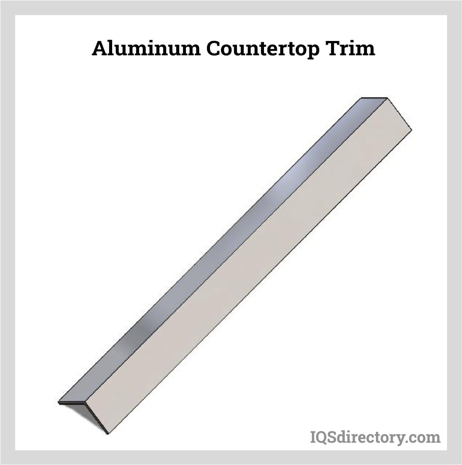 Aluminum Countertop Trim