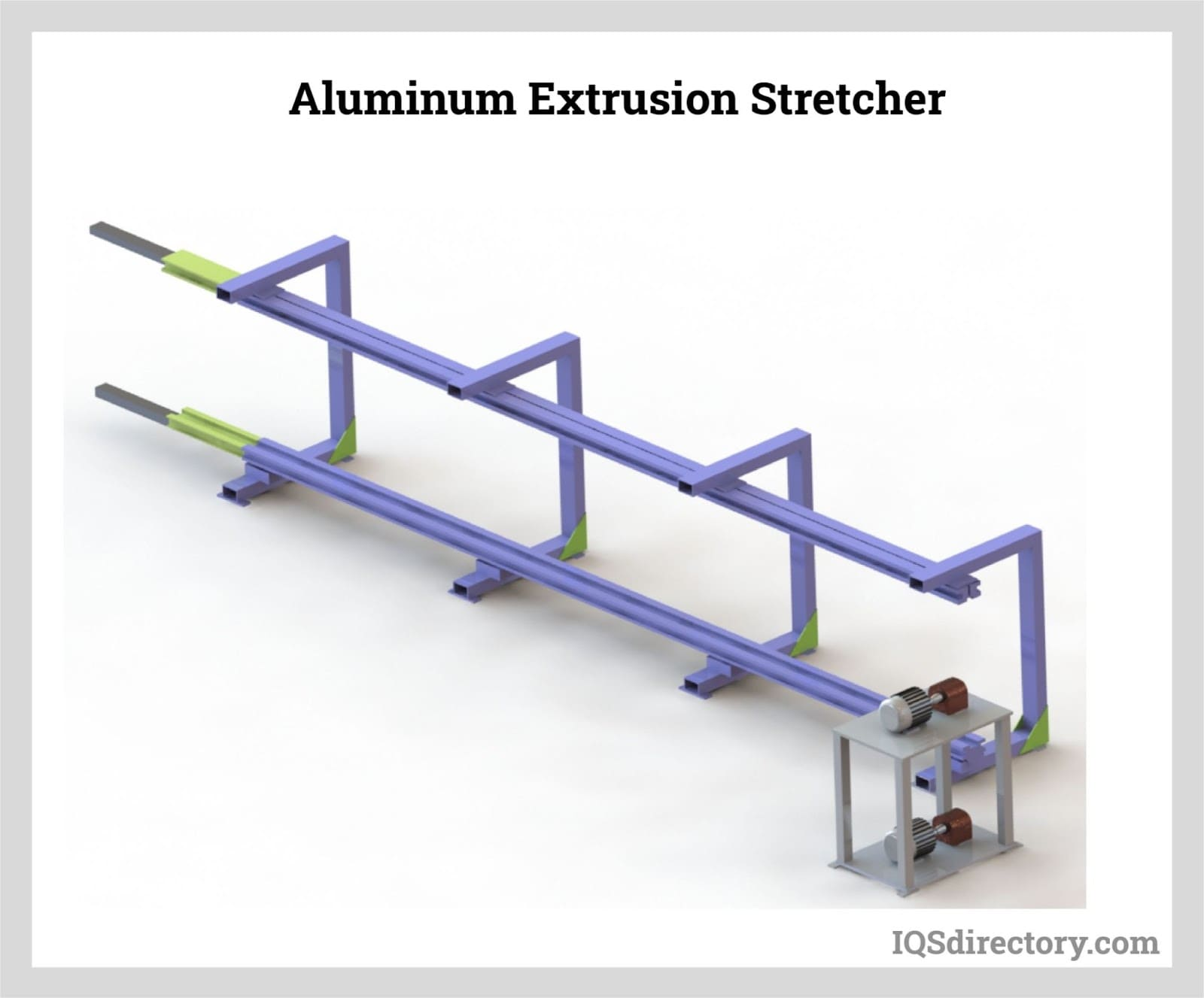 Aluminum Extrusion Stretcher