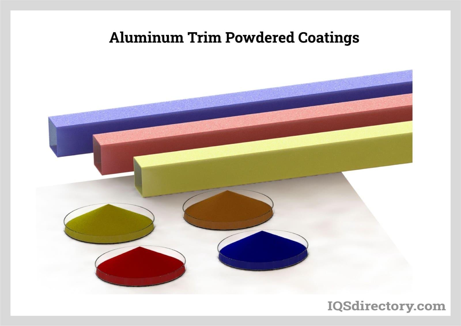 Aluminum Trim Powdered Coatings