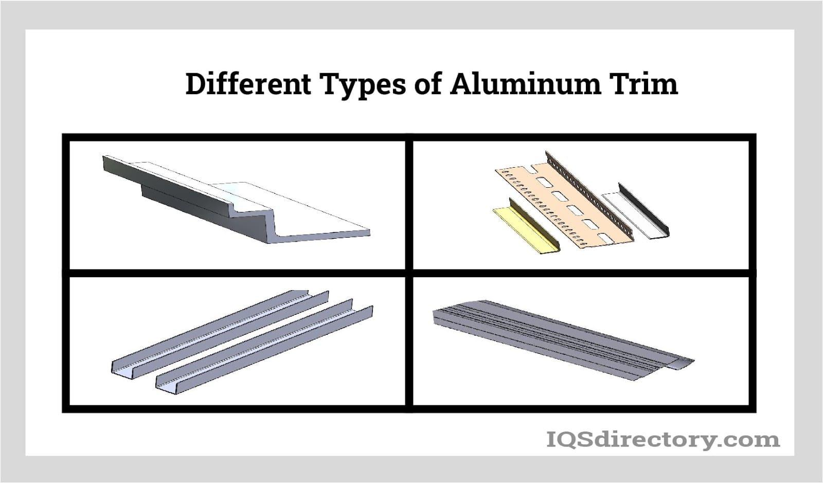 Different Types of Aluminum Trim