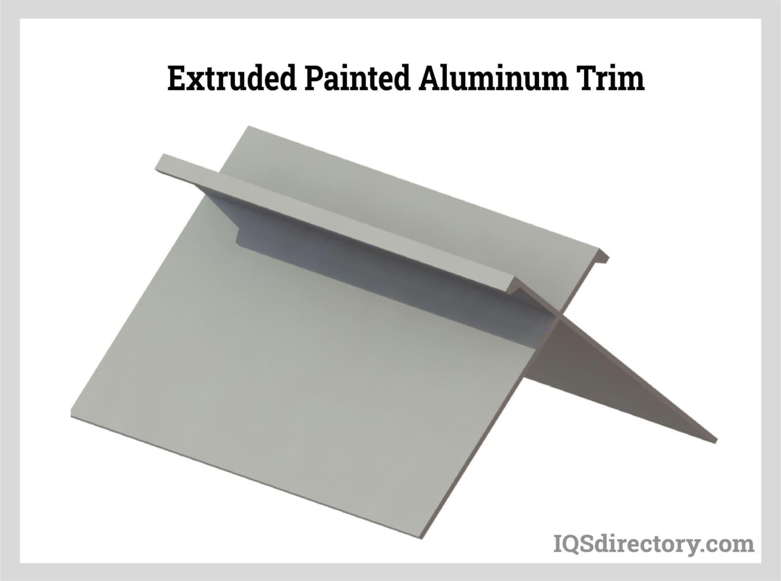 Extruded Painted Aluminum Trim