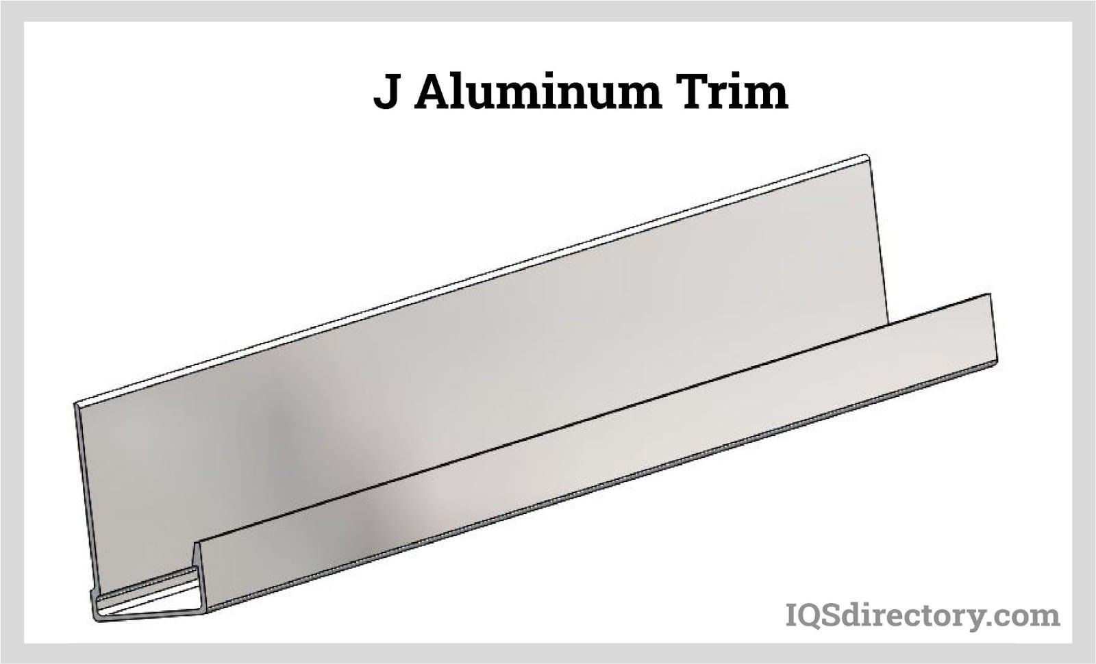 J Aluminum Trim