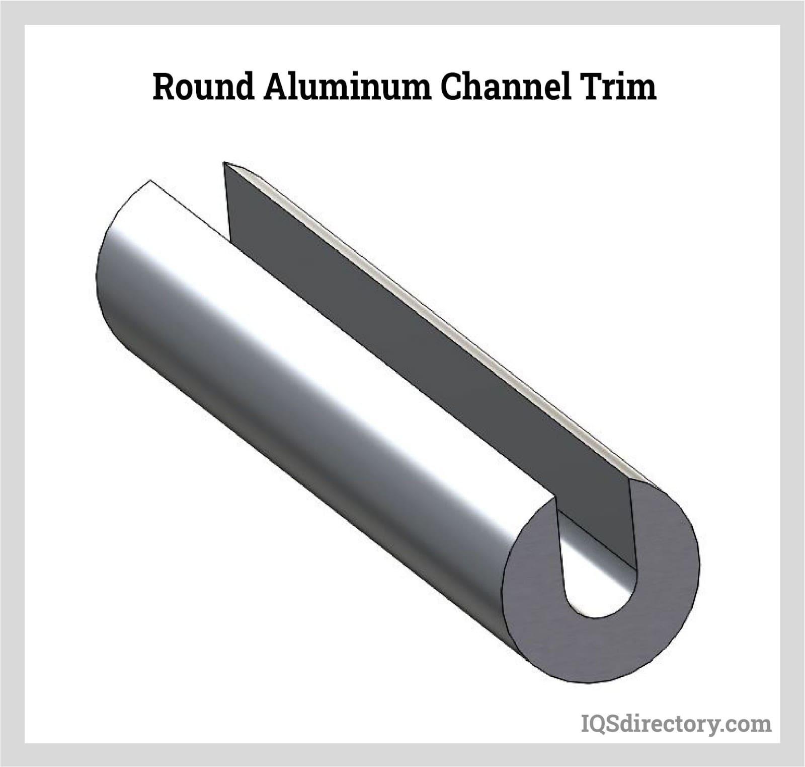 Round Aluminum Channel Trim
