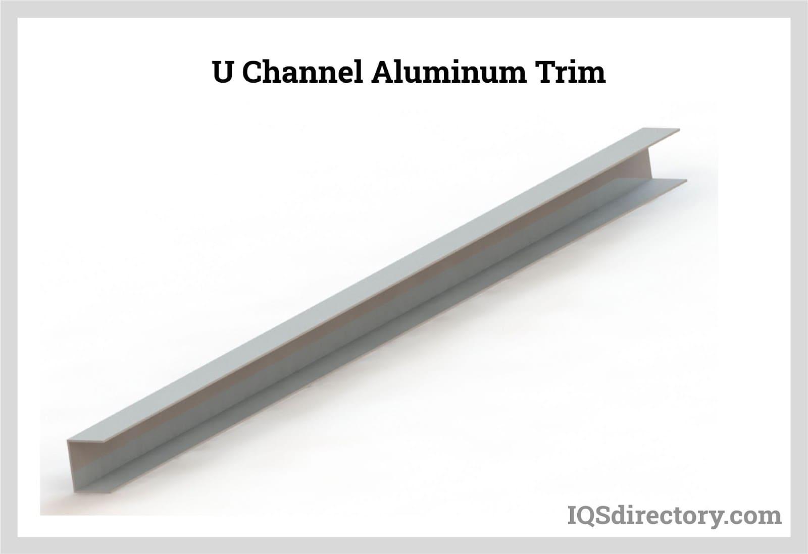U Channel Aluminum Trim
