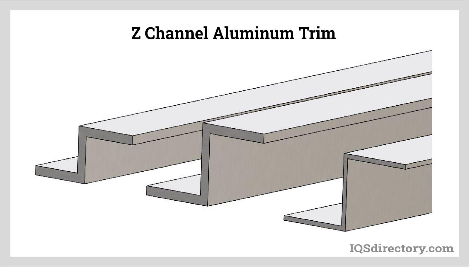 Z Channel Aluminum Trim