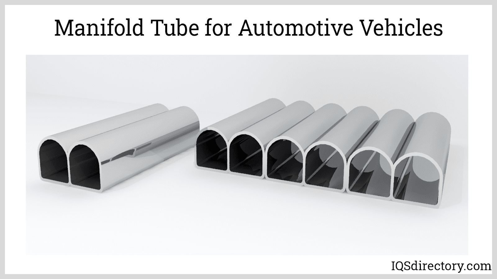 Manifold Tube for Automotive Vehicles