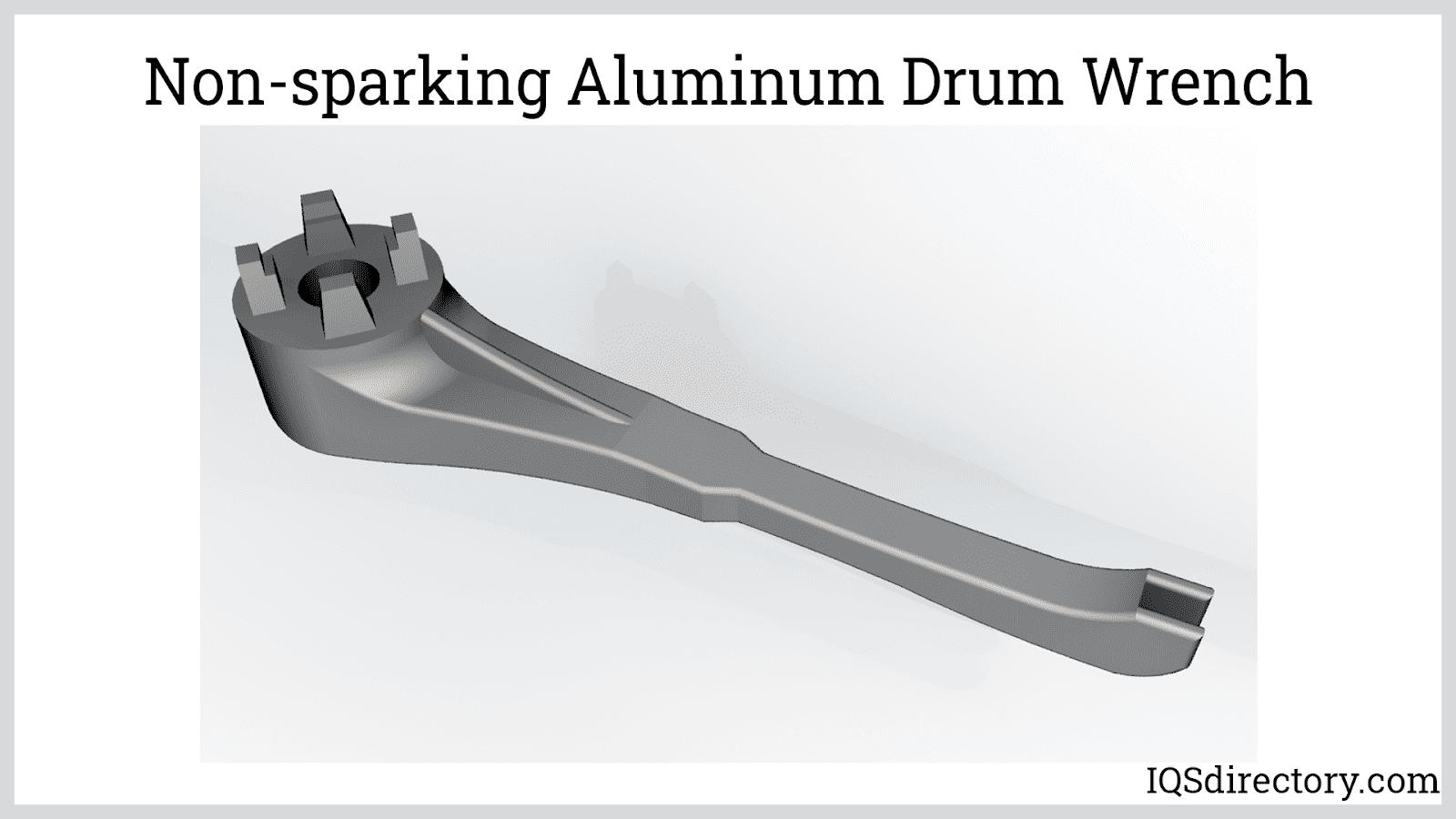Non-sparking Aluminum Drum Wrench