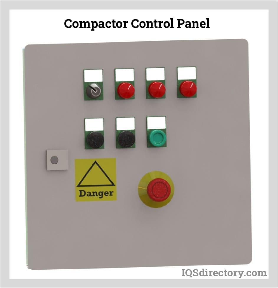 Compactor Control Panel