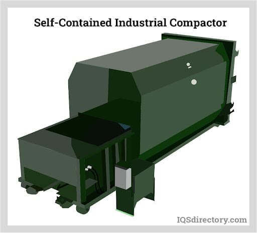 Self-Contained Industrial Compactor