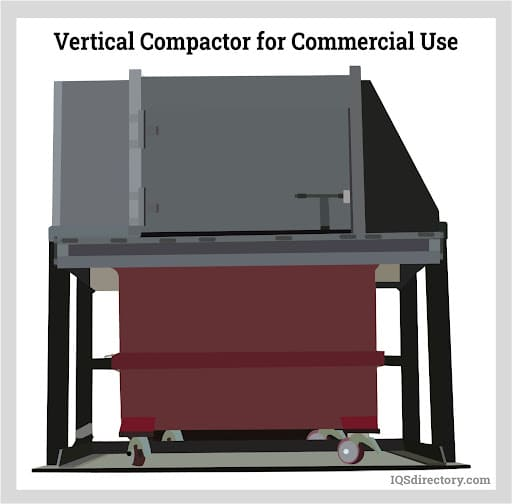 Vertical Compactor for Commercial Use