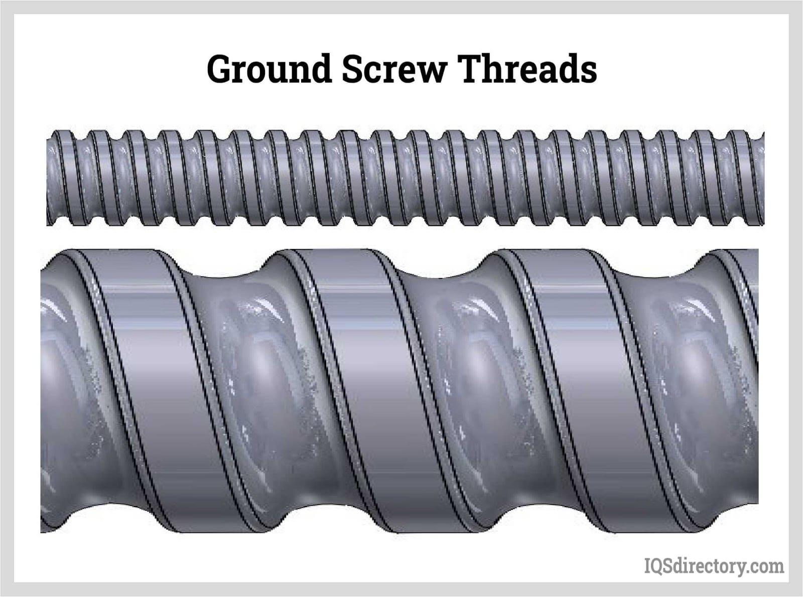 Ground Screw Threads