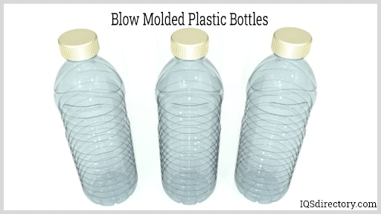 Blow Molded Plastic Bottles