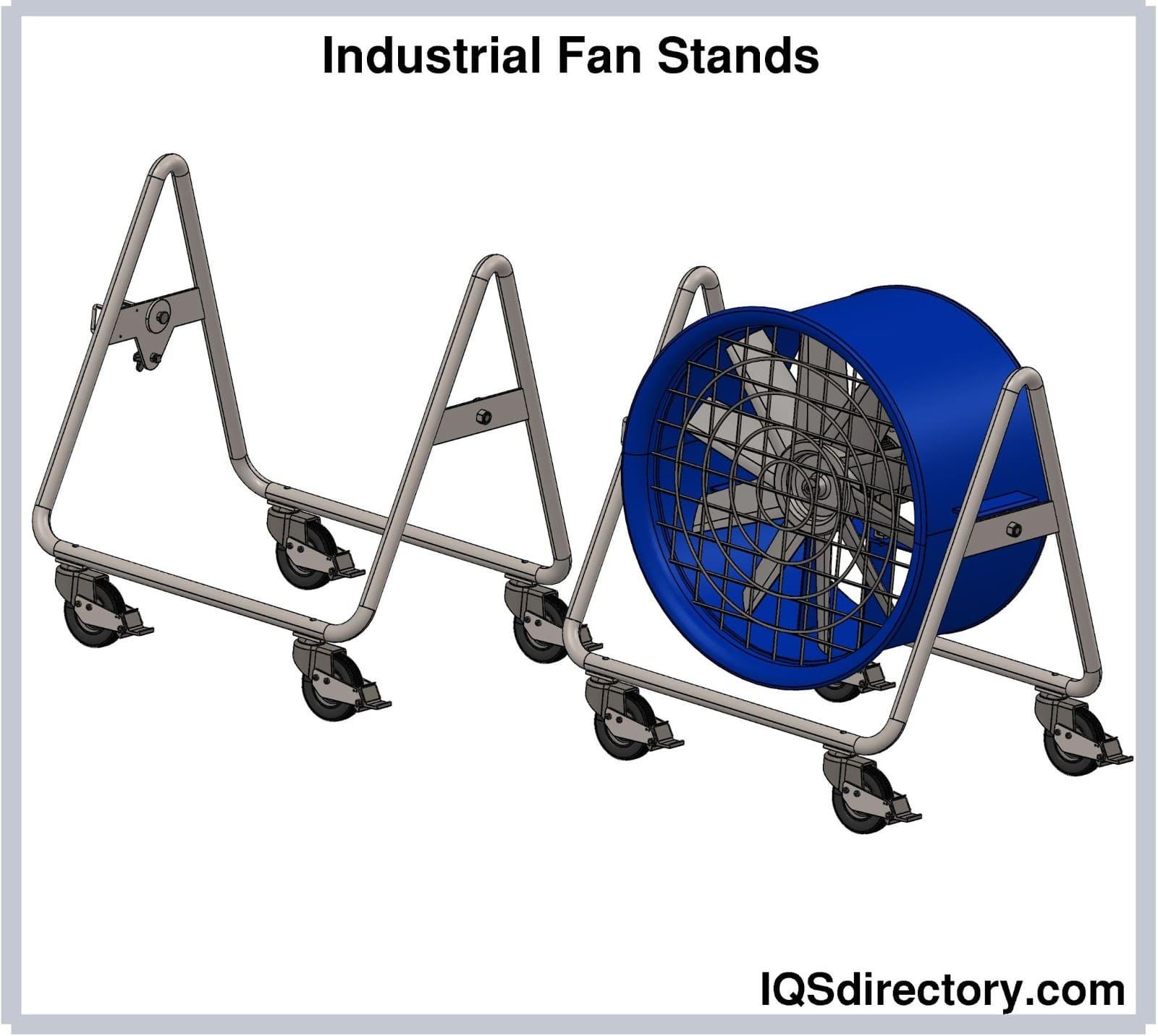 Industrial Fan Stands