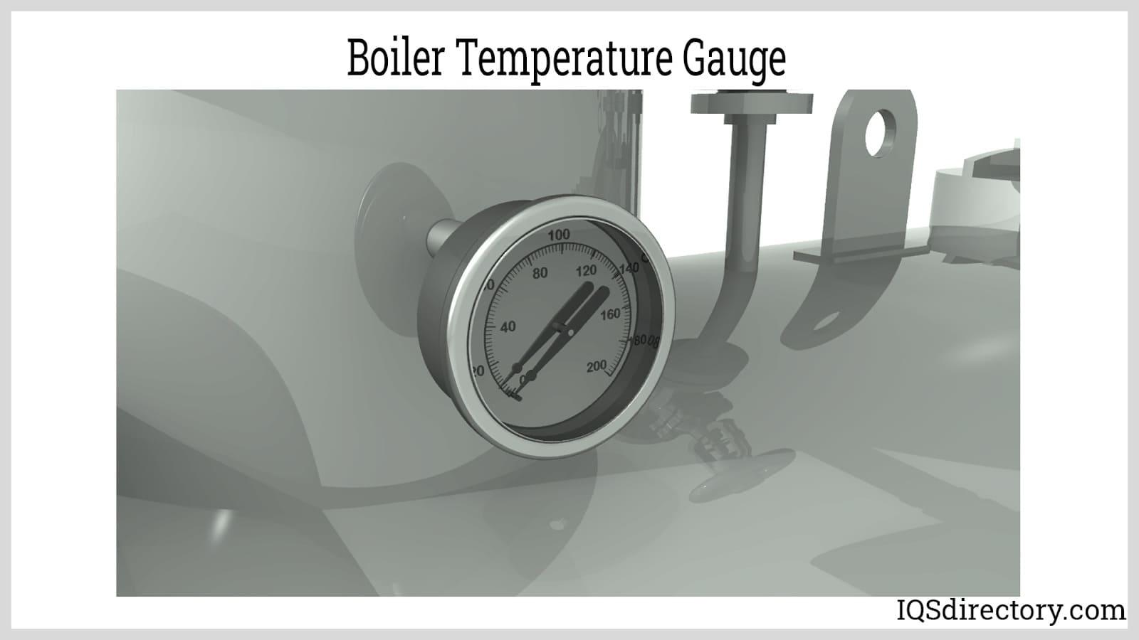 Boiler Temperature Gauge