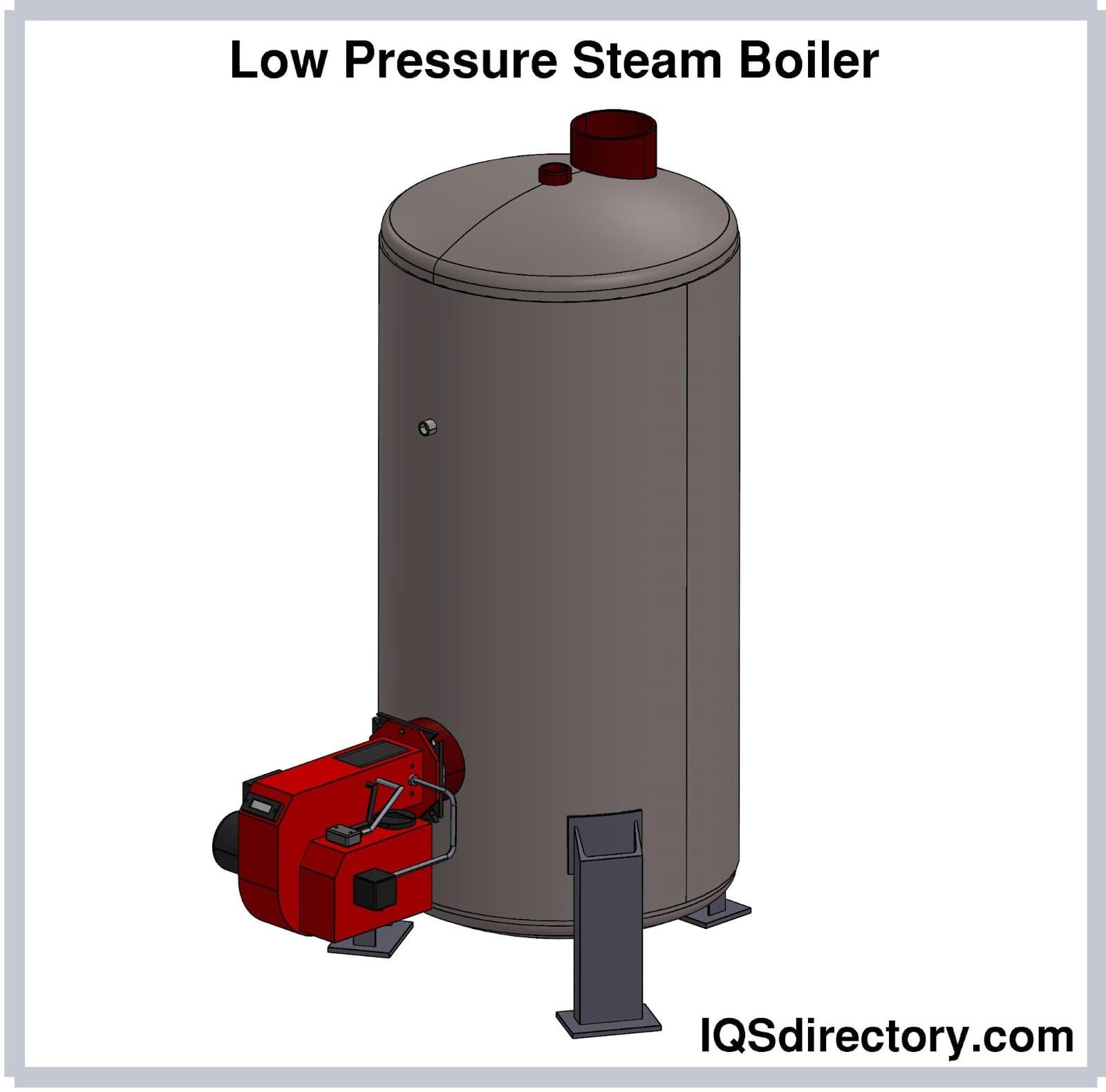 Low Pressure Steam Boiler