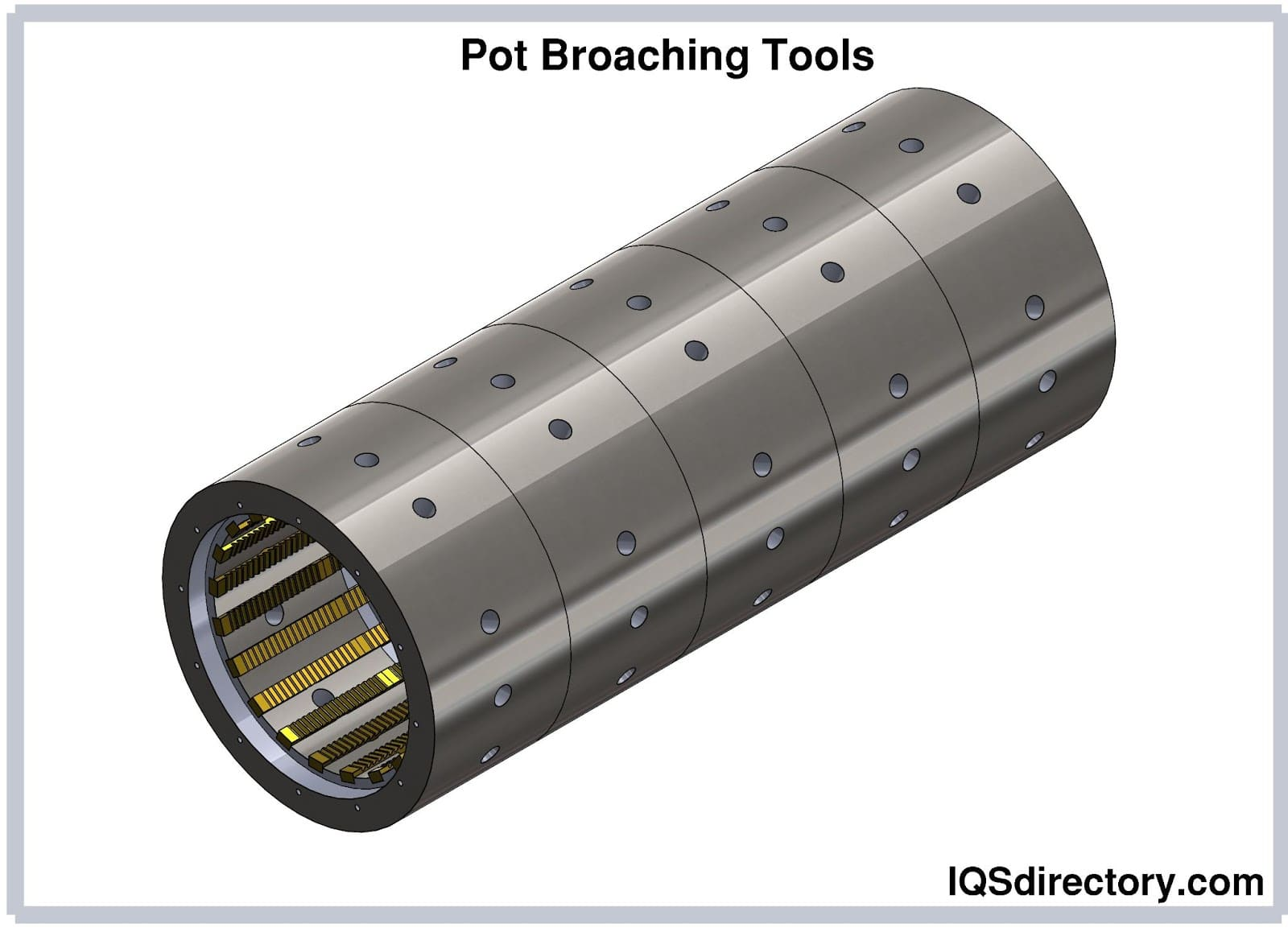 Pot Broaching Tools