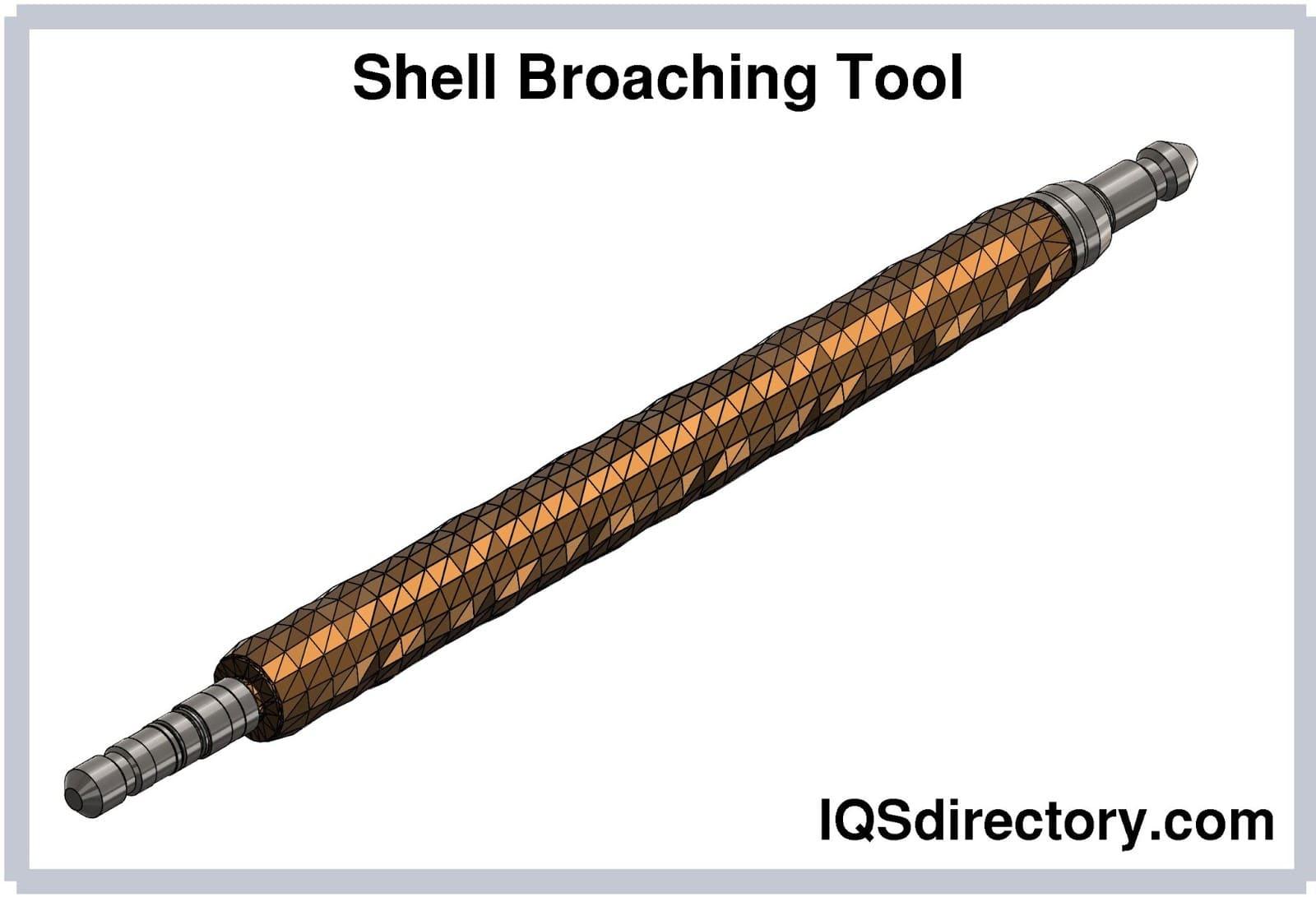 Shell Broaching Tool