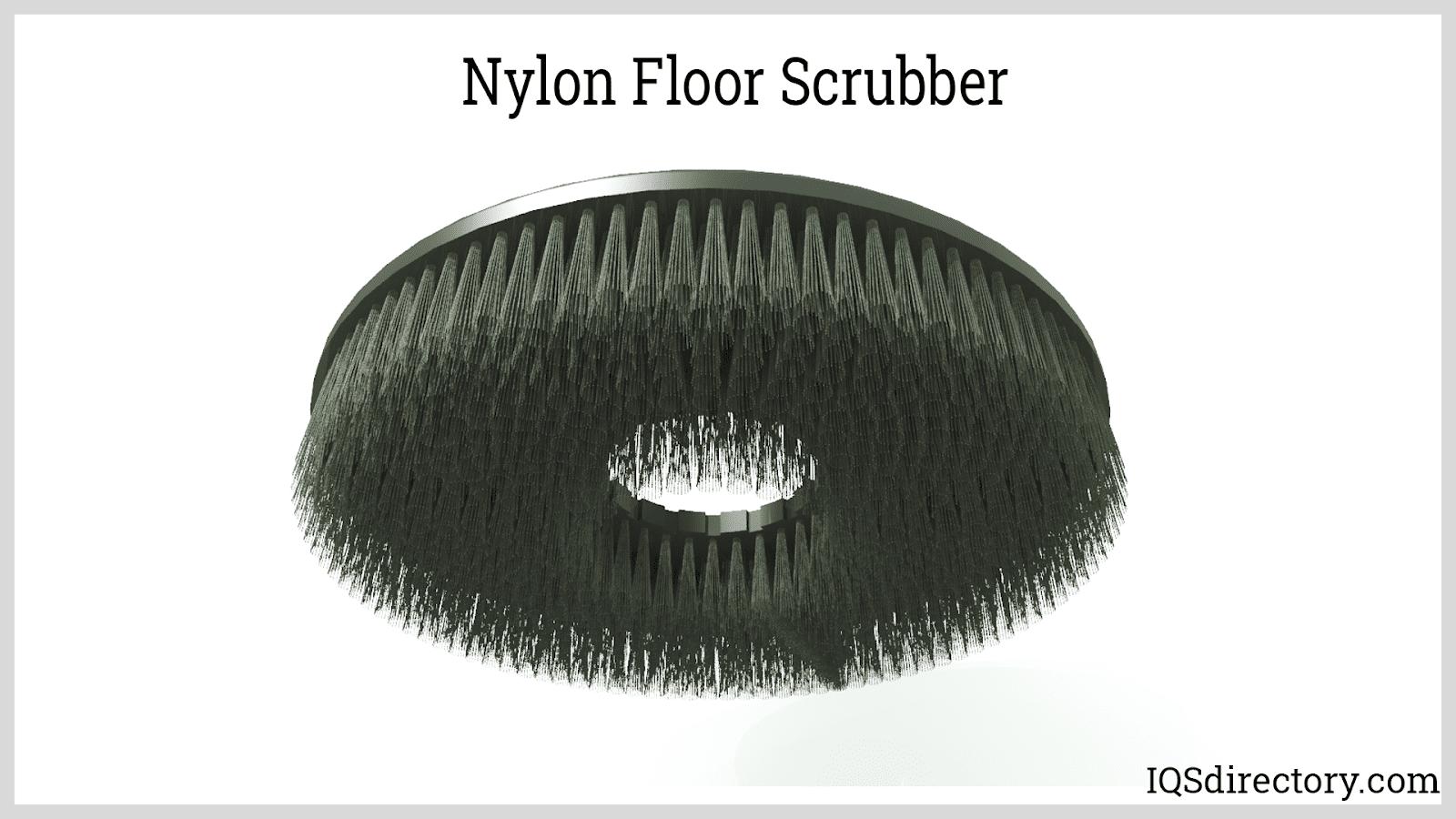 Nylon Floor Scrubber