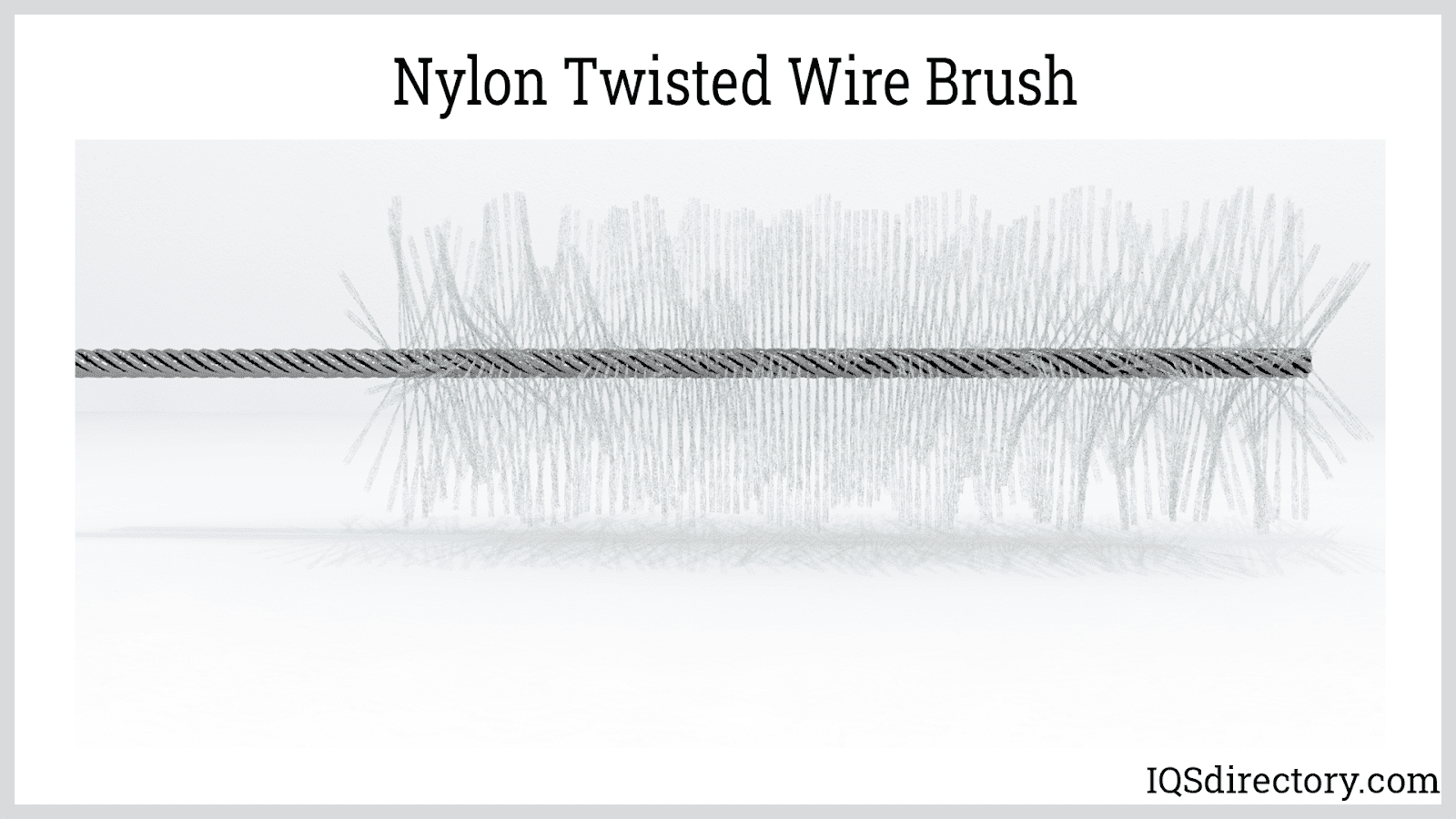 Nylon Twisted Wire Brush