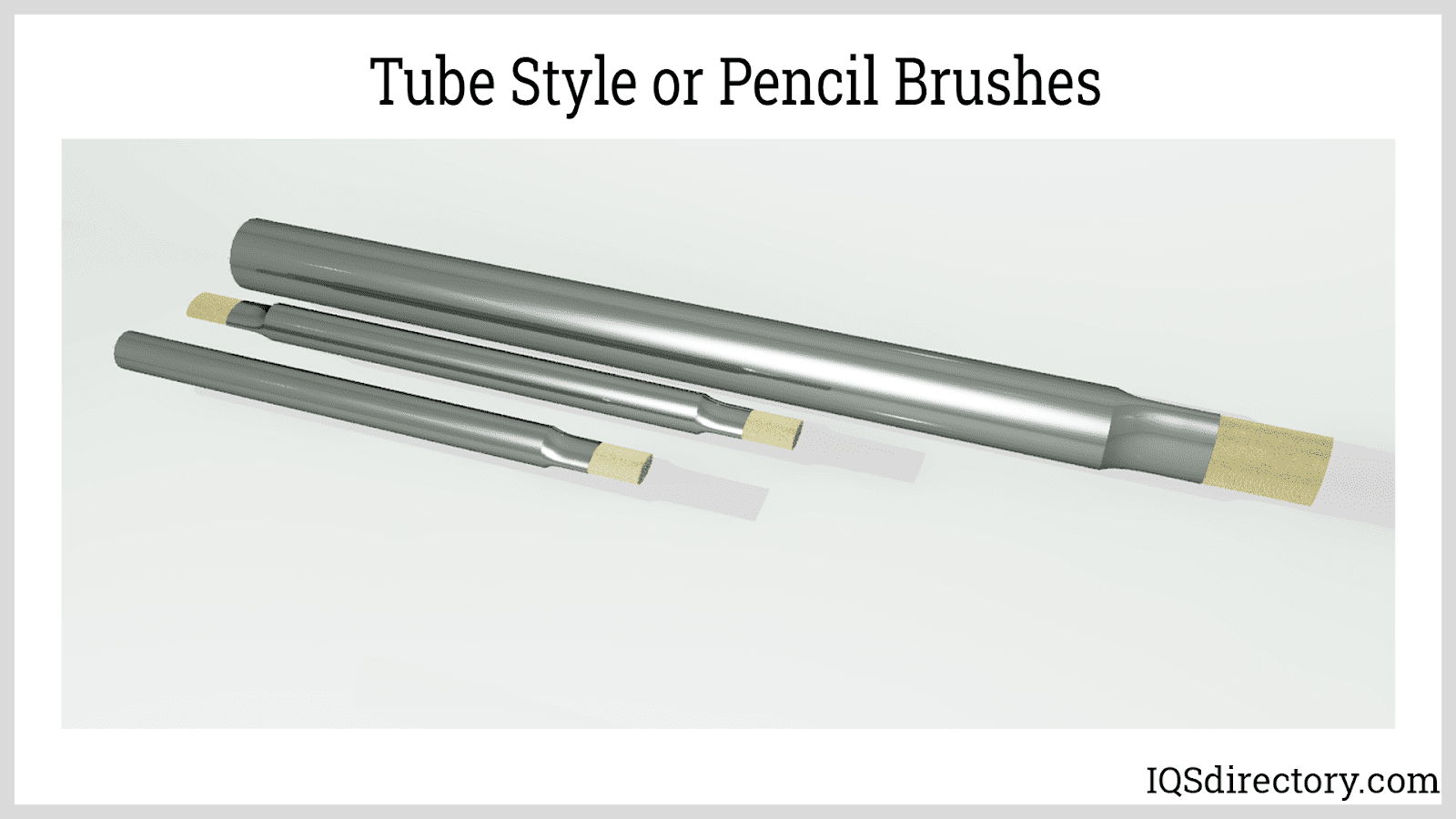 Tube Style or Pencil Brushes