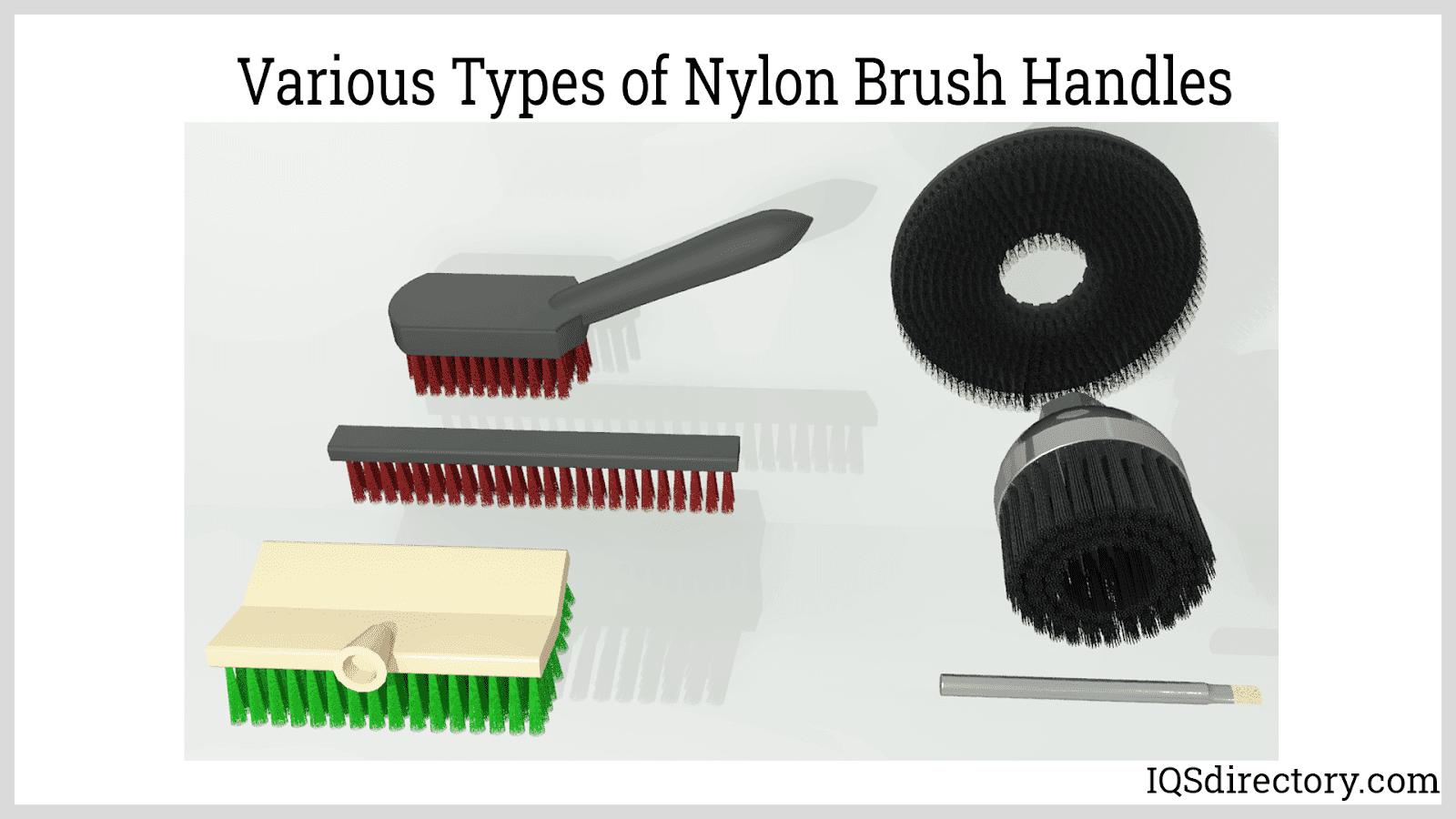 Various Types of Nylon Brush Handles