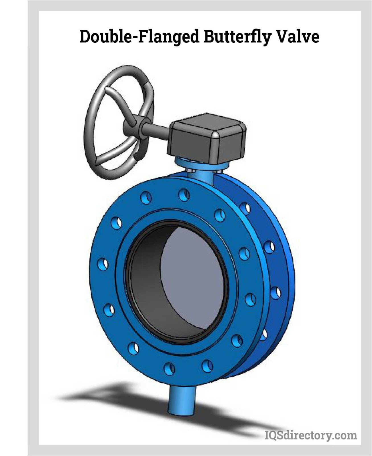 Double-Flanged Butterfly Valve