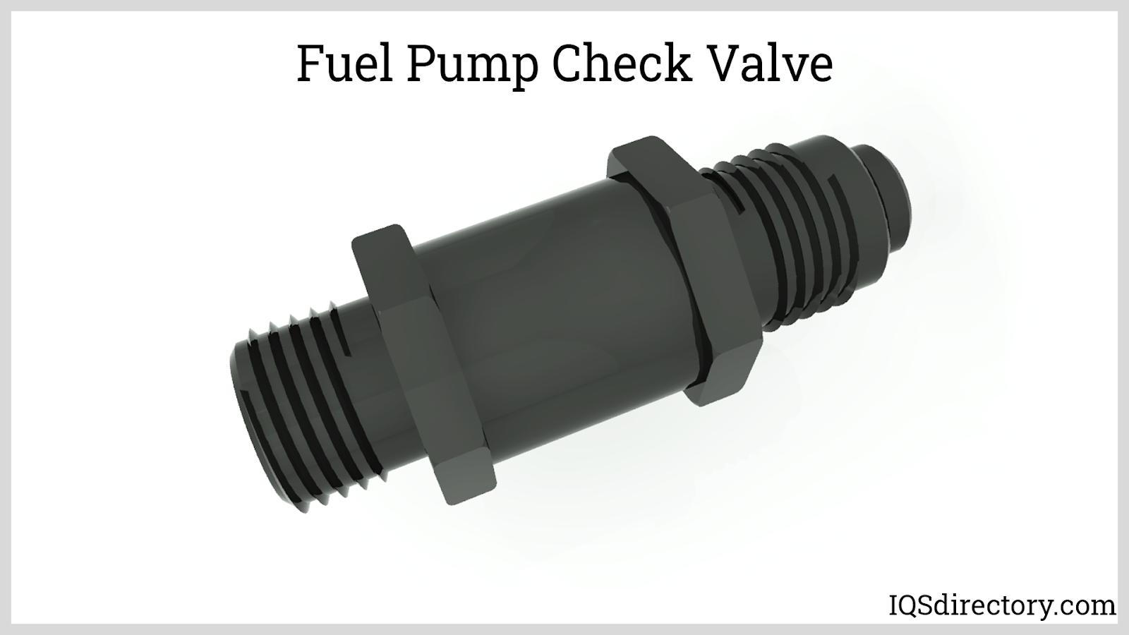 Fuel Pump Check Valve