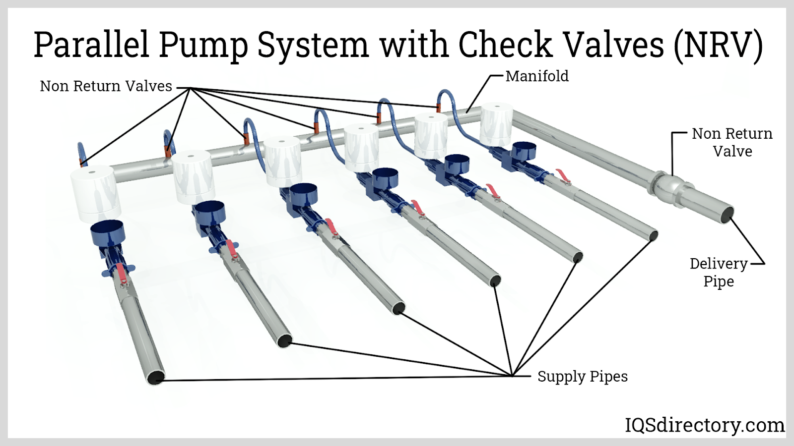 Parallel Pump System with Check Valves (NRV)