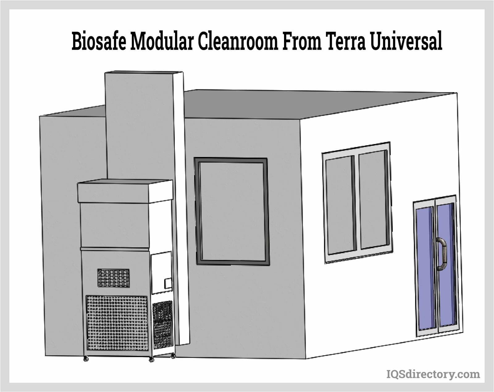 BioSafe Modular Cleanroom from Terra Universal