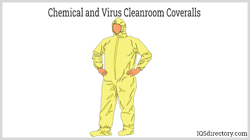 Chemical and Virus Cleanroom Coveralls