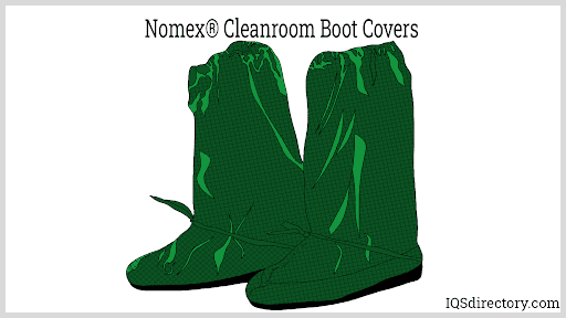 Nomex® Cleanroom Boot Covers