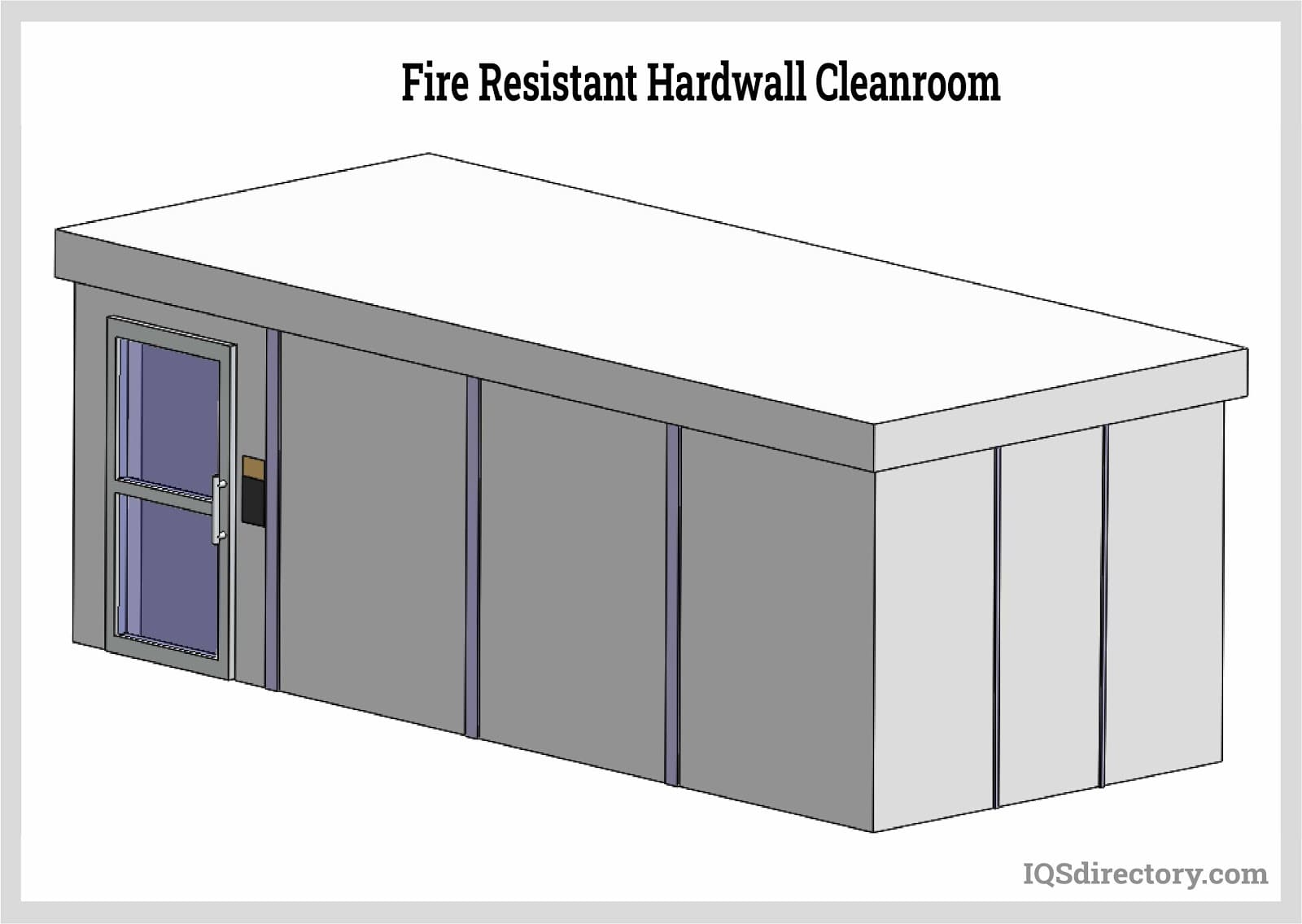 Fire Resistant Hardwall Cleanroom