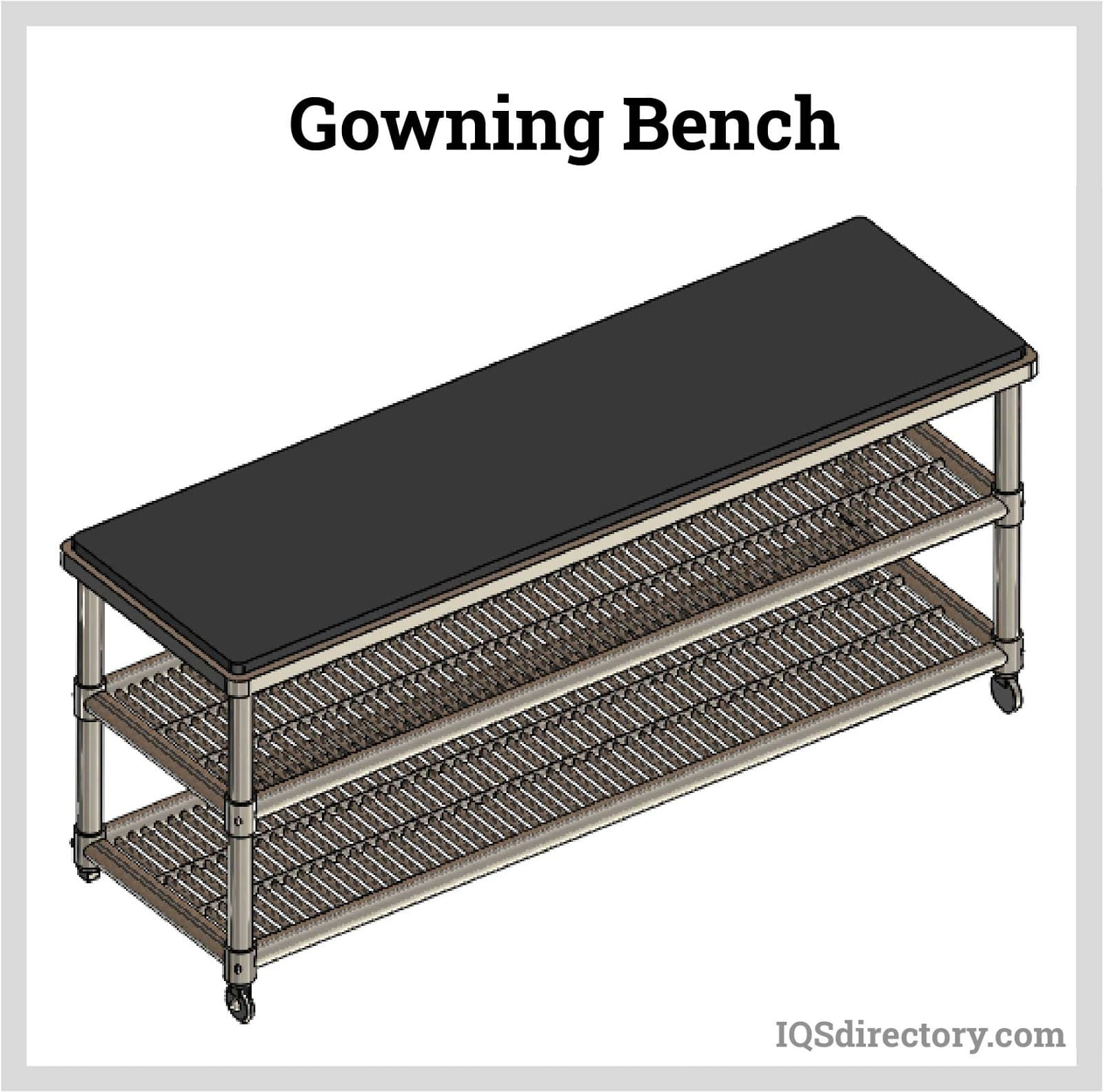 Gowning Bench