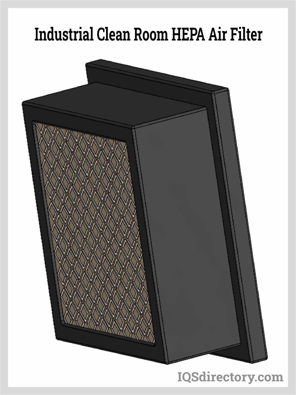 Industrial Clean Room HEPA Air Filter