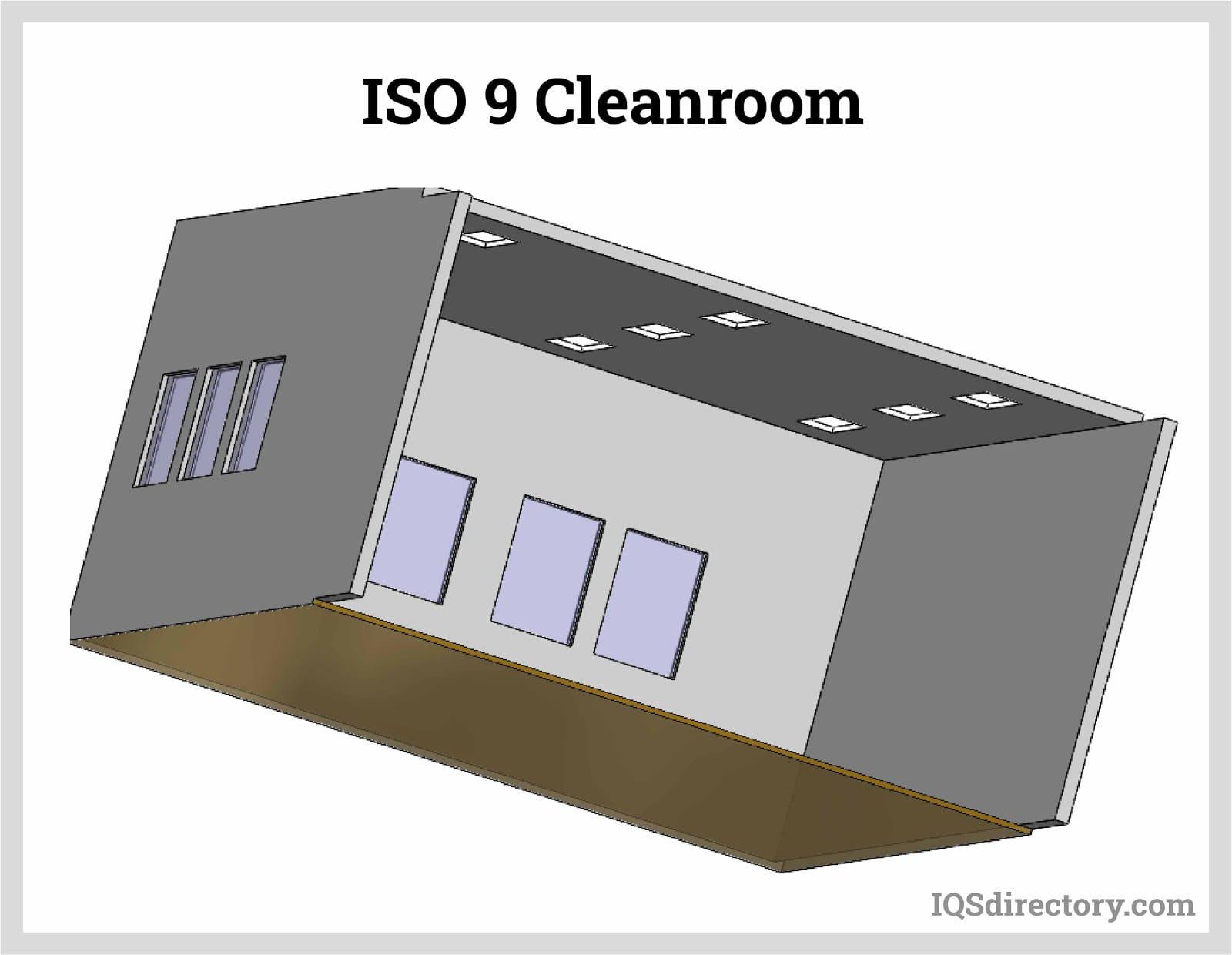 ISO 9 Cleanroom