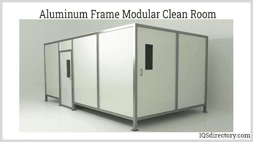 Aluminum Frame Modular Clean Room