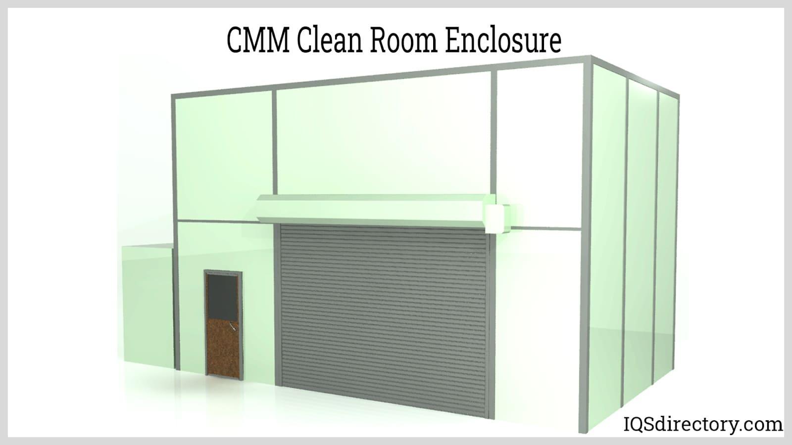 CMM Clean Room Enclosure