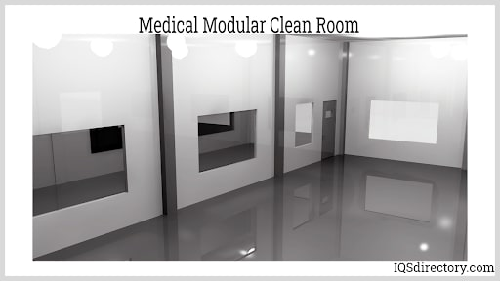 Medical Modular Clean Room