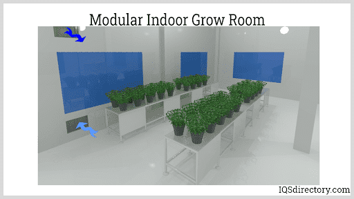 Modular Indoor Grow Room