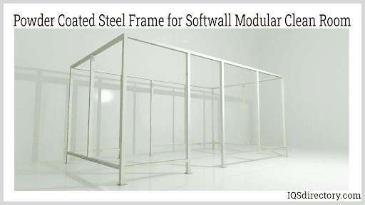 Powder Coated Steel Frame for Softwall Modular Clean Room